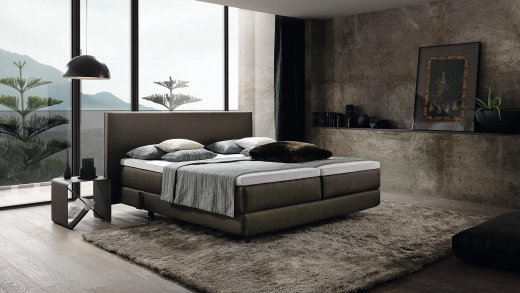 boxspring home style. Black Bedroom Furniture Sets. Home Design Ideas